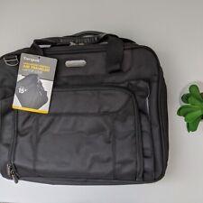 TARGUS Computer Laptop Bag Air Traveler Black Shoulder Messenger Briefcase NWT
