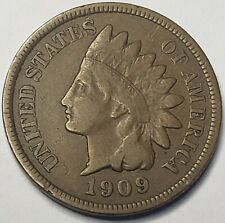 1909-S INDIAN HEAD PENNY RARE KEY DATE NICE BOOK COIN