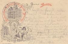 AK Berlin Pschorrbräu-Ausschank Ferd. Printz gel 1894 Brauerei