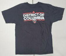 District Columbia D.C United MLS Adidas Men's Black Short Sleeve Size XL