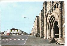 CP 85 VENDEE - Belleville-sur-Vie - Haut du Bourg, ancienne Eglise et Carrefour