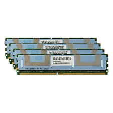 Server RAM 16GB 4x 4GB PC2-5300F FB DIMM Fully Buffered DDR2 667 ECC REG Memory