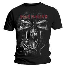 Official Iron Maiden T Shirt Final Frontier Vintage Eddie Skull