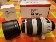 New listing Canon Ef 70-300mm f/4-5.6L Is Usm w/ Canon Tripod Mount Ring C(Wii)