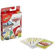 Uno Disney Pixar Cars Card Game 2-10 Players