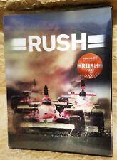RUSH Blu-Ray KIMCHIDVD Korea Exclusive Lenticular Slip STEELBOOK RARE OOP