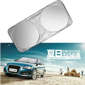 147*69cm Car Sunshade Sun Shade Front Protection Window Windshield Cover