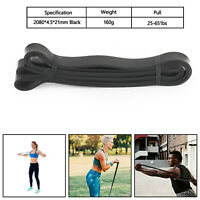 GYM Latex Exercise Bands Resistance Elastic Band Assist Bands Fitness C B4