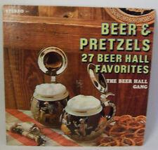 Beer Hall Gang - Beer & Pretzels 27 Favorites LP Vinyl Record Album 1012 Premier