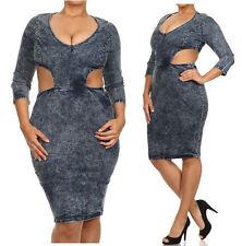d5066d7c48 Denim Plus Size Dresses for Women for sale