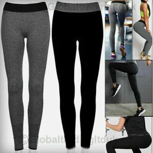 Women Yoga Trousers Ladies Fitness Leggings Running Gym Exercise Sports Pant LOT