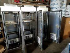 334 ITS Cabinet Brand New Aluminum NEMA 4X W/Equipment Rack & Power Distribution
