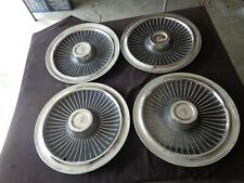 "1965 Mercury Colony Park Marauder Montclair Monterey 15"" Wheel Covers Hubcaps"