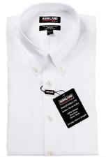 Kirkland Signature Mens White Long Sleeve Dress Shirt 16 32/33