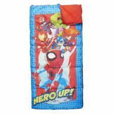 Marvel SuperHero Adventures Spiderman Sleeping Bag Outdoor Indoor Camping Kids T