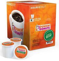 96 K Cups - Dunkin Donuts Decaf Blend - Sealed Boxes Decaf
