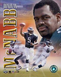 Donovan McNabb Philadelphia Eagles NFL Licensed Unsigned Glossy 8x10 Photo C
