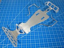 Aluminum Front+ Rear Lower Bumper+ Side Rail+ Chassis Tamiya 1/10 Monster Beetle