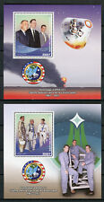 Congo 2017 MNH Apollo 1 Grissom White Chaffee 2x 1v S/S Space Stamps