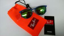Ray-Ban Junior Sunglasses Erika Metal Jnr 9538S 255/3R Matt Purple Green Mirror