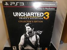 Uncharted 3 Steelebook: Drake's Deception Collector's Edition PS3 Read Details