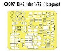 Eduard 1/72 Ki-49 Helen Peinture Masque Pour Hasegawa # CX097