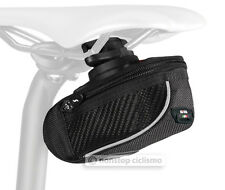 SciCon COMPACT 430 Roller Carbon Bicycle Saddle Bag Under Seat Storage BLACK