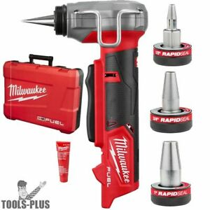 Milwaukee 2532-20 M12 FUEL ProPEX Expander w/3 Expander Heads (Tool Only) New