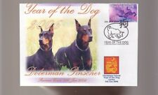 DOBERMAN PINSCHER 2006 YEAR OF THE DOG STAMP COVER 6