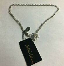 Zirconia Anklet Palm Tree Cz Mrp $16 Nwt Cookie Lee Charm Silver Tone Cubic