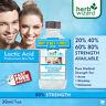 LACTIC Acid Skin Peel 80% For Acne Wrinkles,Melasma,Collagen-Stimulation,Refresh