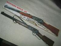 """Schrödel 802 5003 - Gewehr Western Rifle 44"""" + 208 Schuß 13-Schuss, 73 cm Cowboy"""