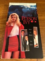 Poison Ivy VHS VCR Video Tape Movie Drew Barrymore Used RARE Horror