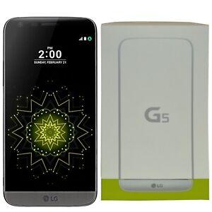 BNIB LG G5 H850 32GB Titan Grey Android Factory Unlocked 4G/LTE GSM Boxed New