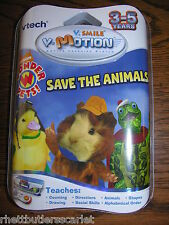 Vtech V.Smile V-Motion Wonder Pets Save the Animals ~~~ New