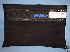 Sherwood Double Zip Pockets Black for Weights SCUBA