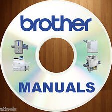 BROTHER mfc FAX Printer Copier SERVICE Repair MANUALS Manual DVD - HUGE SET