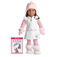 American Girl Snowy Chic Outfit and Book NIB - No Doll Lanie Chrissa McKenna Mia