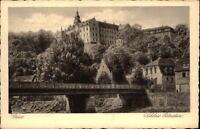 GERA Thüringen ca. 1920/30 Brücke am Schloss Osterstein Verlag J. Bettenhausen