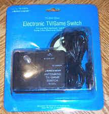 RF Switch Box Atari Jaguar, Nintendo, Sega Automatic New Black Radio Shack