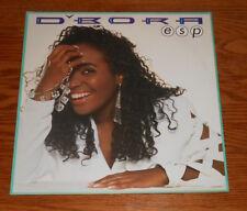D'Bora ESP Poster 2-Sided Flat Square 1991 Promo 12x12 R&B RARE