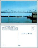 GEORGIA Postcard - Savannah, The Talmadge Bridge F47