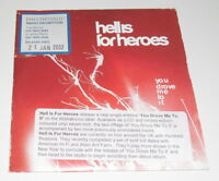 HELL IS FOR HEROES - YOU DROVE ME TO IT - 2001 UK PROMO CD SINGLE IN CARD SLEEVE