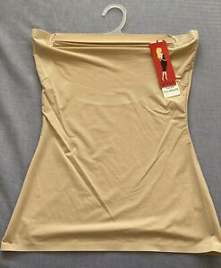 Spanx Shapewear Size M/ 12 Nude Bandeau Top, Strapless. Underwear.