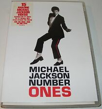 Michael Jackson - #1's (Number One's)--- (DVD, 2003)