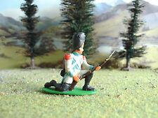 Vintage Airfix Napoleonic Berg grenadier kneeling defending 1:32 painted