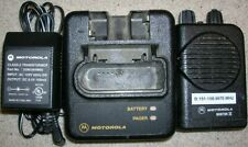 Motorola Minitor Iv 2-Channel Vhf 151 - 158.999 Mhz Stored Voice