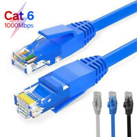 Ethernet CAT6 Network Cable Patch Lead RJ45 for Laptop Computer Router