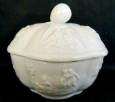 RICHARD GINORI NEO CLASSICAL WHITE LIDDED BOX / JAR