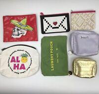 Makeup Case Bag Lot Sephora Benefit Gena Travel & More - Lot of 7